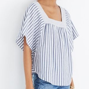 Madewell || Butterfly Top in Stripe Play